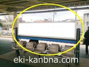 鎌倉駅ホーム№B01&B02駅看板・駅広告、写真1