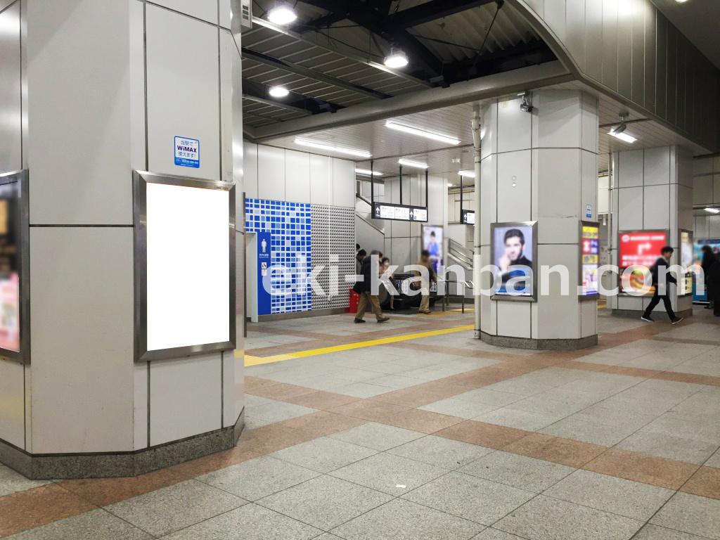 JR/秋葉原駅/昭和通り口/№127駅看板・駅広告、写真