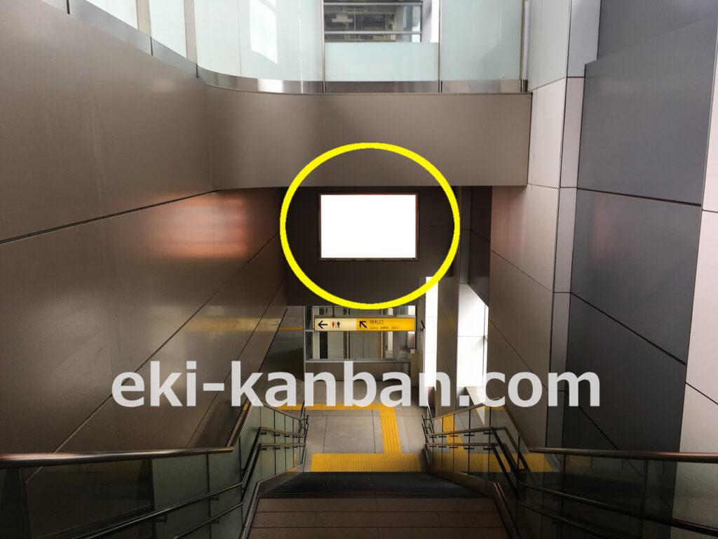 つくばエクスプレス/万博記念公園駅/上りホーム/№5駅看板・駅広告、写真1