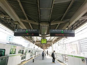 JR大塚駅_山手線ホーム