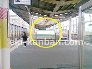 JR/中浦和駅/ホーム/№B01&B02駅看板・駅広告、写真1
