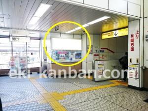 JR/武蔵溝ノ口駅/本屋口/№30駅看板・駅広告、写真2