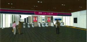 下北沢駅 K-DGボード_パース2