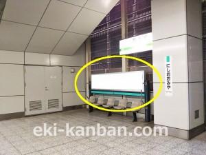 JR/西大宮駅/下りホーム/№B02駅看板・駅広告、写真 (2)