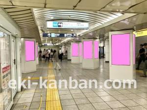 東京メトロ/高田馬場駅/MCV/JR口改札‗駅デジタルサイネージ・駅広告、写真3pink