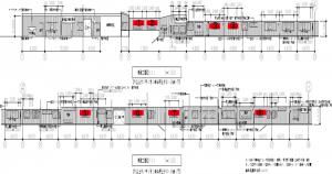 代々木駅新設看板‗設置図