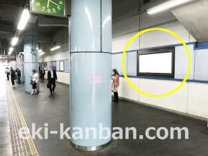 西武/航空公園駅/駅でん/№100駅看板・駅広告、写真(2)