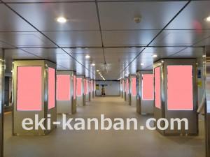 東京メトロ/日本橋駅/MCV/ 駅デジタルサイネージ、写真1