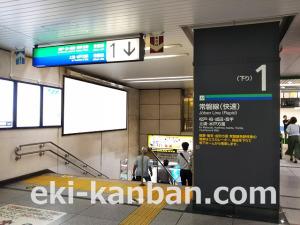 JR/北千住駅/本屋口/№246駅看板・駅広告、写真 (1)