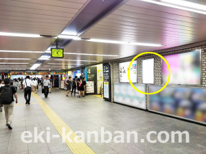 JR/中野駅/地下道/№71駅看板・駅広告、写真 (3)