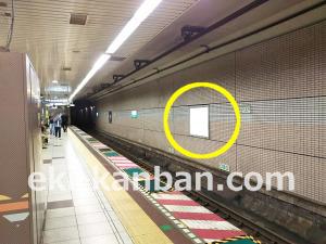 東京メトロ/千代田線/乃木坂駅/№2駅看板・駅広告、写真3