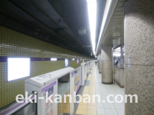 東京メトロ/半蔵門線/青山一丁目駅/№8駅看板・駅広告、写真 (2)