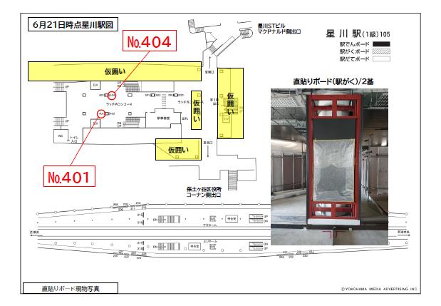 【計画開発】相鉄星川駅_新設駅図面