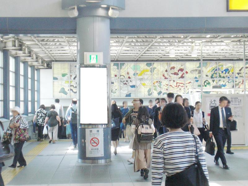 JR/品川駅/自由通路/№19駅看板・駅広告、写真